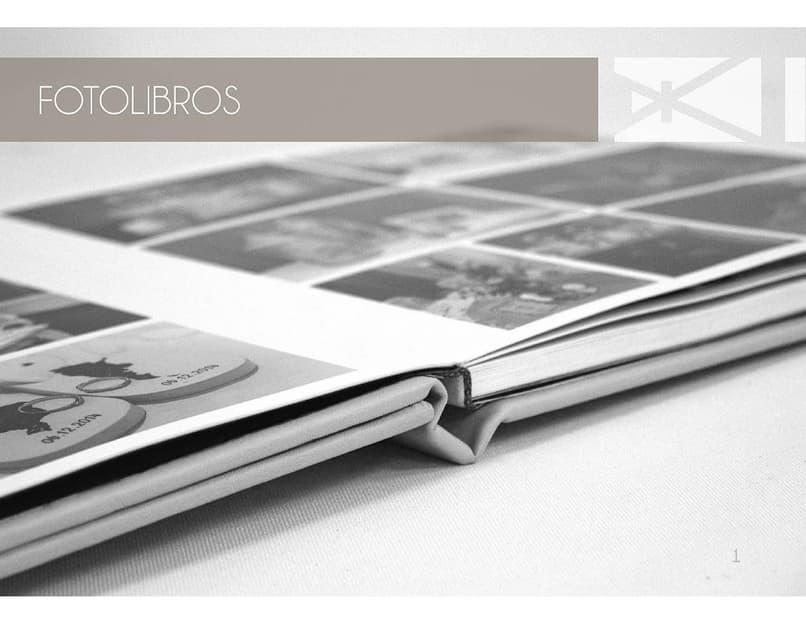 album ze zdjęciami lub fotoksiążka
